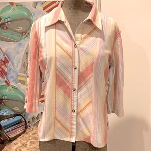 THE WORKS 70's style cotton drill Shirt